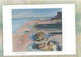 low tide, augusta